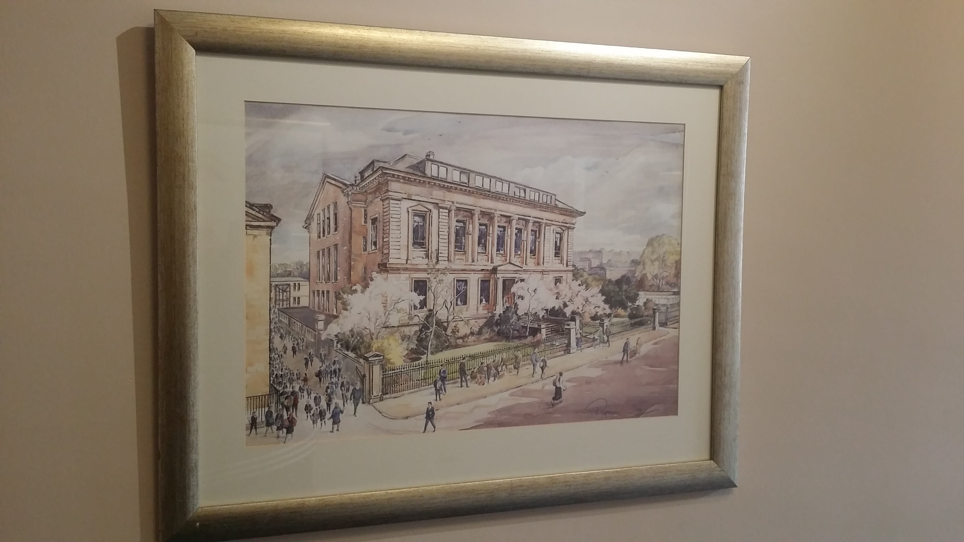 Glasgow Academy limited edition print (unframed)
