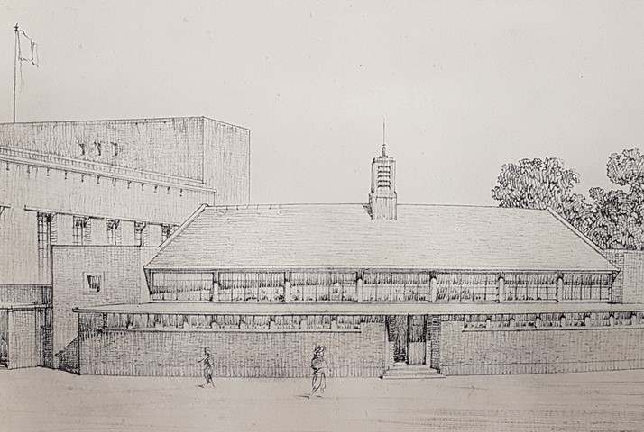 Proposed Dining Hall by Keppie